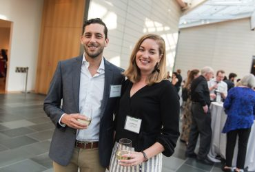 Sebastian Ipince, Julia McHugh, curator of Academic Initiatives