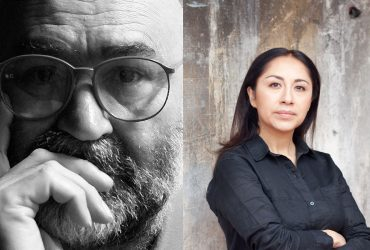 Photo of Rupert García (left) by Don Farnsworth. Photo of Minerva Cuevas by Gonzalo Morales. Cuevas photo courtesy of the artist and kurimanzutto, Mexico City, New York.