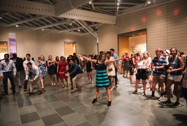 First year Duke students turn our Great Hall space into a giant dance floor!