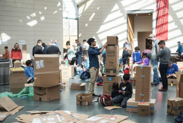 Our 2nd annual Cardboard City Family was incredibly fun!