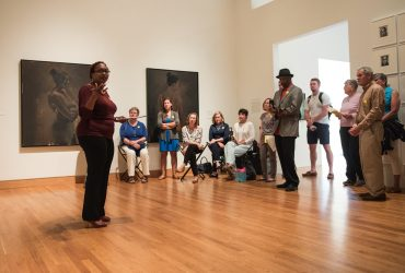"Jerry Philogene leads a special ""Noon at the Nasher"" tour."