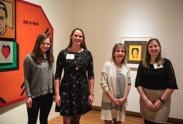 Friends from Durham Magazine (left to right): Hannah Lee, Lauren Phillips, Kem Johnson and Amanda MacLaren. Photo by J Caldwell.