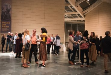 The Nasher Museum co-hosted an evening of music and conversation to celebrate the fall Music & Protest issue of Southern Cultures, the academic quarterly published by UNC Press with the Center for the Study of the American South.