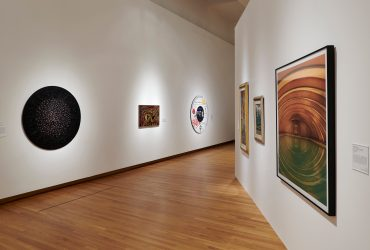 Installation view; Cosmic Rhythm Vibrations; September 28, 2019–March 1, 2020. Nasher Museum of Art at Duke University. Photo by Peter Paul Geoffrion.