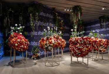 Installation view: Ebony G. Patterson . . . while the dew is still on the roses . . . , Pérez Art Museum Miami, November 2018 – May 2019. © Ebony G. Patterson. All work courtesy of the artist and Monique Meloche Gallery, Chicago. All photos by Oriol Tarridas.