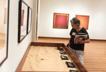 Visitor explores Art for a New Understanding