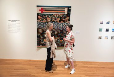 Visitors explore Art for a New Understanding