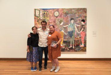 Artists Maria Berrio, Jeff Whetstone and Genevieve Gaignard