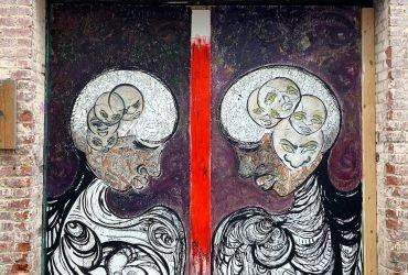 Construct mural by Michelle Gonzalez Green