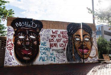 Mural by LA Jarome Chesson